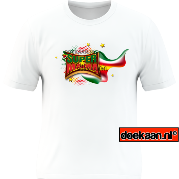 Surinaamse Super Mama shirt