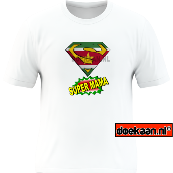 Super Surinaamse Mama shirt